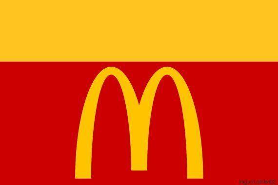 Si les restos «fast-food» étaient des drapeaux