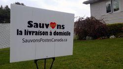 Postes Canada exclut un moratoire, mais se dit ouverte aux