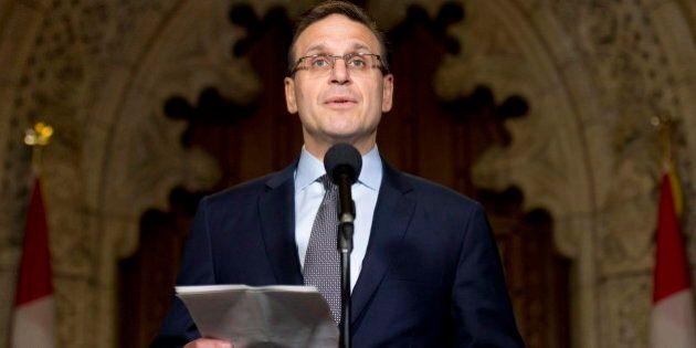 Le président du Sénat, Leo Housakos, aurait coulé le rapport du vérificateur
