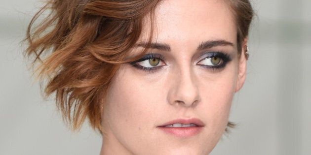 PARIS, FRANCE - JANUARY 27: Kristen Stewart attends the Chanel show as part of Paris Fashion Week Haute...
