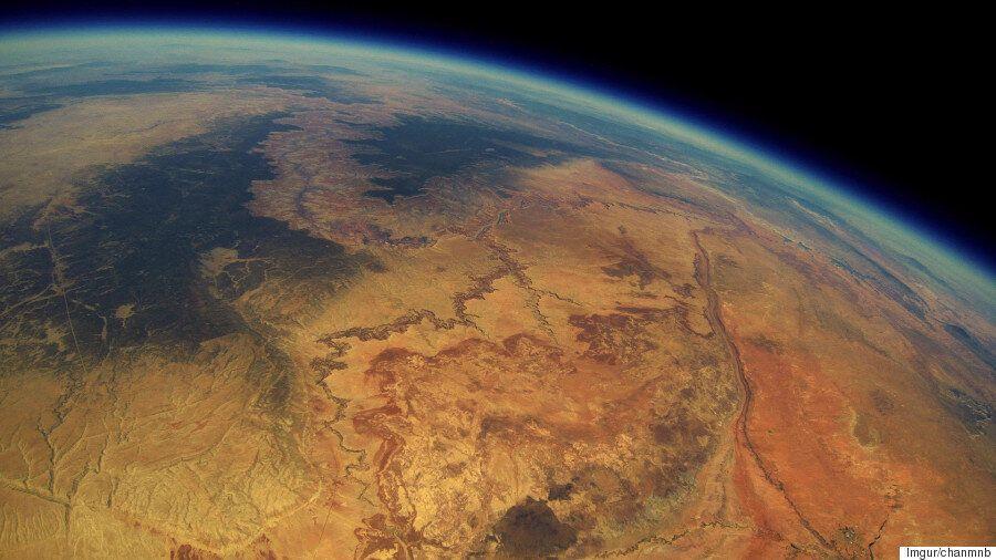 Le Grand Canyon vu du ciel: cette machine «do-it-yourself» s'est rendue à 30km...