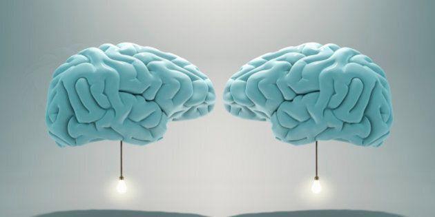 two brains communicating