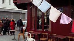 Réouverture du Carillon, café parisien
