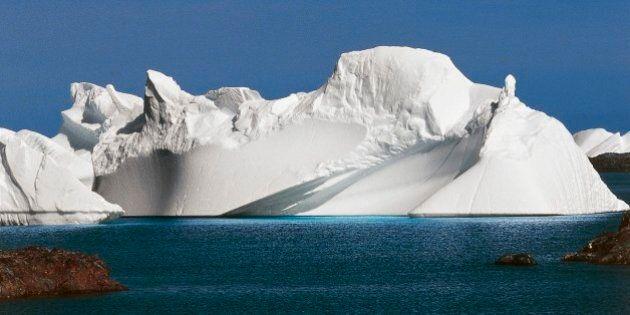 ANTARCTICA - JUNE 15: Iceberg near the Ukrainian Station Akademik Vernadsky, Antarctic Peninsula, Antarctica....
