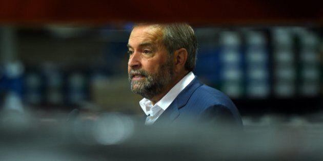 Mulcair: le Canada peut recevoir 10 000 réfugiés avant la fin de