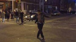 Il danse sur du Michael Jackson pendant les émeutes à Baltimore