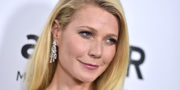 Gwyneth Paltrow arrives at the amfAR Inspiration Gala at Milk Studios on Thursday, Oct. 29, 2015, in Los Angeles. (Photo by Jordan Strauss/Invision/AP)