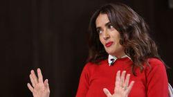 Salma Hayek a moins de rôles, mais elle s'en fout