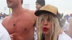 Jeux olympiques spéciaux: Lady Gaga plonge dans les eaux glacées de