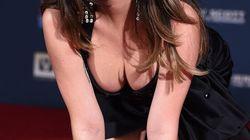 Katy Perry a-t-elle fait le bon choix de robe pour poser ses empreintes?