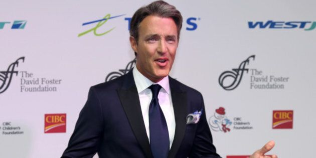 TORONTO, ON - SEPTEMBER 26: Host Ben Mulroney arrives at the David Foster Foundation Miracle gala and...