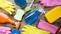 Des produits désinfectants maison pour dire adieu aux