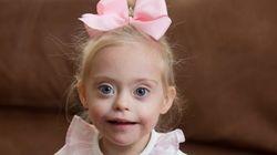 À deux ans, cette fillette atteinte de trisomie est un mannequin prometteur