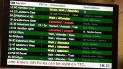Interruption du trafic ferroviaire sur la ligne Lakeshore à