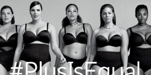 #PlusIsEqual: la nouvelle campagne virale de la griffe dite taille plus Lane