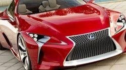 Lexus LC 500 : le nouveau porte-étendard de Lexus