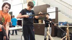 Une école à Val-d'Or offre un cours de maniement des armes à