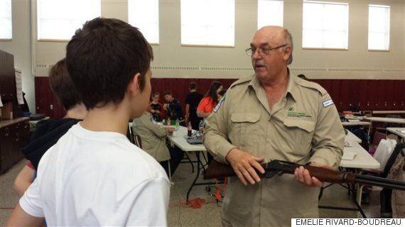 L'école secondaire Le Transit à Val-d'Or offre un cours de maniement des armes à