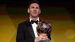 Lionel Messi sacré Ballon d'Or pour la 5e