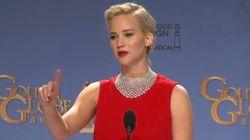 Quand Jennifer Lawrence rit d'un journaliste accro à son téléphone