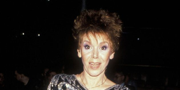 Judy Carne attends the birthday party for Grace Jones on August 28, 1990 at Stringfellow's in New York City. (Photo by Ron Galella, Ltd./WireImage)
