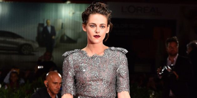 VENICE, ITALY - SEPTEMBER 05:  Kristen Stewart attends the premiere of 'Equals' during the 72nd Venice Film Festival at Sala Grande on September 5, 2015 in Venice, Italy.  (Photo by Stefania D'Alessandro/WireImage)