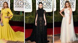 Golden Globes : les capes volent la vedette sur le tapis rouge