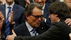 Carles Puigdemont prend les commandes de la Catalogne