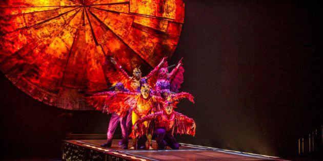«Luzia» du Cirque du Soleil: La chaleur du Mexique à