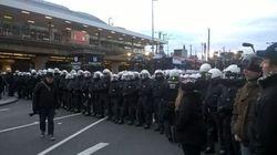 Heurts entre manifestants et policiers à Cologne