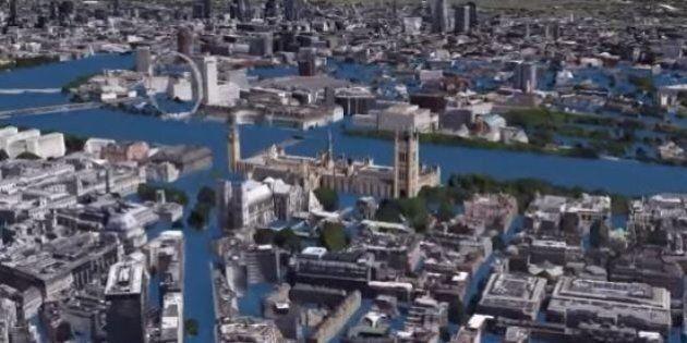 La montée des eaux dans les grandes villes du monde illustrée par d'impressionnantes vidéos