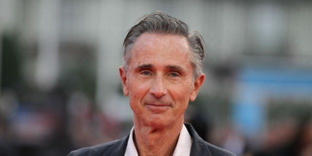French actor Thierry Lhermitte poses on the red carpet before the screening of 'The hundred-foot journey'...