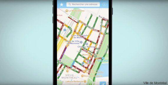 La Ville de Montréal agrandit son réseau cyclable d'hiver et son application mobile de déneigement