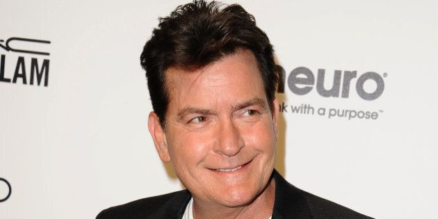 WEST HOLLYWOOD, CA - FEBRUARY 28: Actor Charlie Sheen attends the 24th annual Elton John AIDS Foundation's...