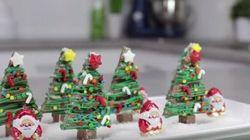 Une recette de sapins à base de Kit-Kat pour innover à Noël
