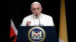 Le pape est en