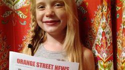 Cette journaliste de 9 ans (qui a couvert un meurtre) réplique à ses