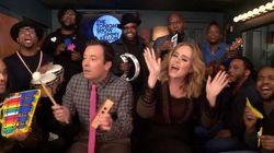 Quand Jimmy Fallon reprend «Hello» avec Adele... à sa manière