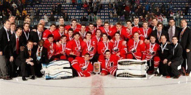Mondial de hockey des moins de 18 ans: le Canada gagne le