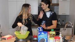 Alicia Moffet et Kevin Bazinet font de la cuisine complètement