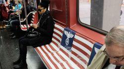 Aigle nazi dans le métro: des affiches d'Amazon