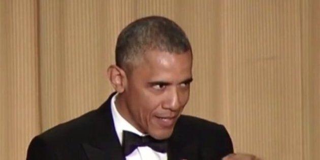 Barack Obama se moque de Hillary Clinton, Dick Cheney et de ceux qui pensent qu'il est musulman