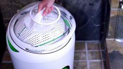 Cette drôle de machine à laver va-t-elle sauver la planète?