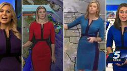 Pourquoi ces miss météo ont-elles la même