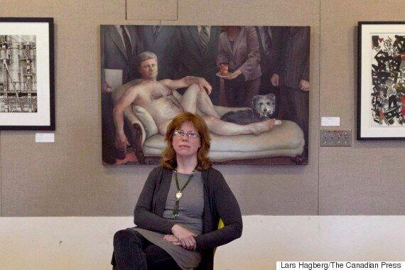 Le portrait nu de Stephen Harper est de retour : il est en vente pour 8 800
