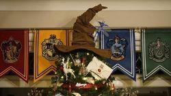 Ce sapin de Noël «Harry Potter» vous plongera dans la magie des