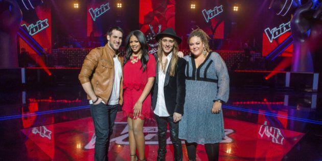«La voix»: les confidences des quatre finalistes
