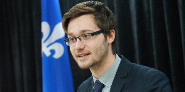 Léo Bureau-Blouin reçoit une prestigieuse