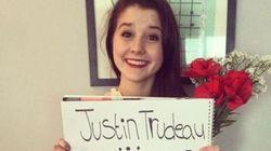 Elle invite Justin Trudeau à son bal de