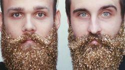 Les barbes à paillettes: la nouvelle tendance pour les Fêtes